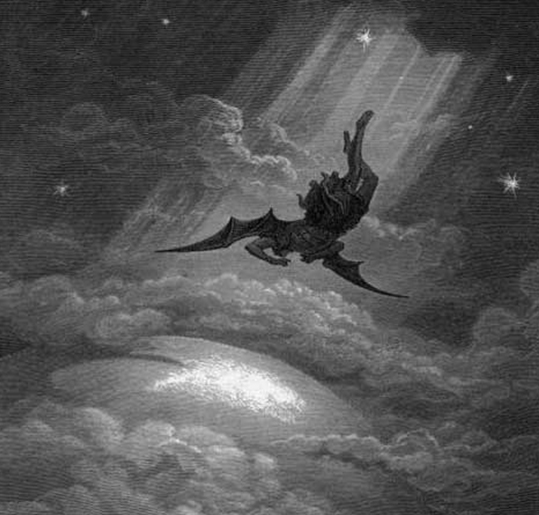 Satanas Foi Expulso Do Ceu Todavia Nao Veio So